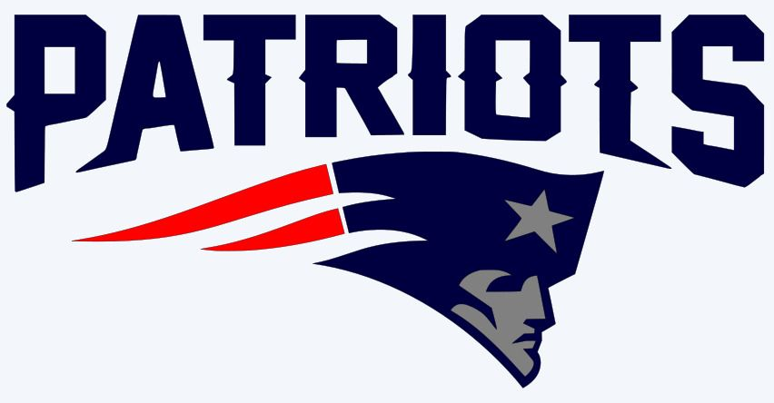 New England Patriots Logo - New England Patriots Logo 3-Color Vinyl Decal Sticker - You Pick ...