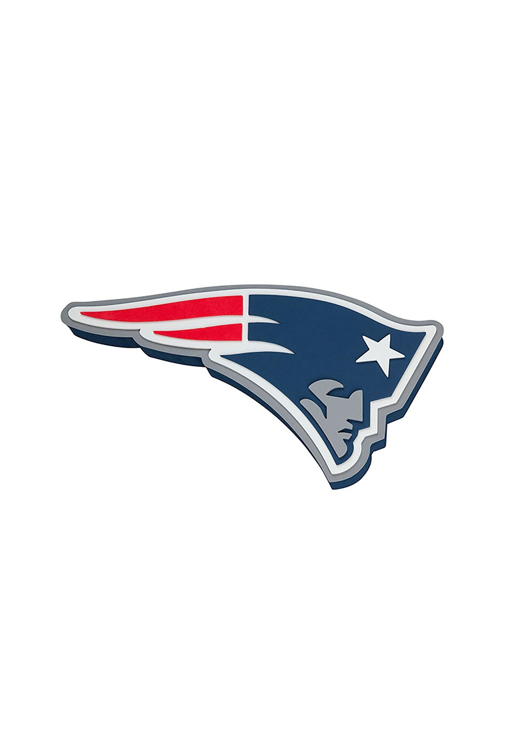 New England Patriots Logo - New England Patriots NFL Logo Foam Sign