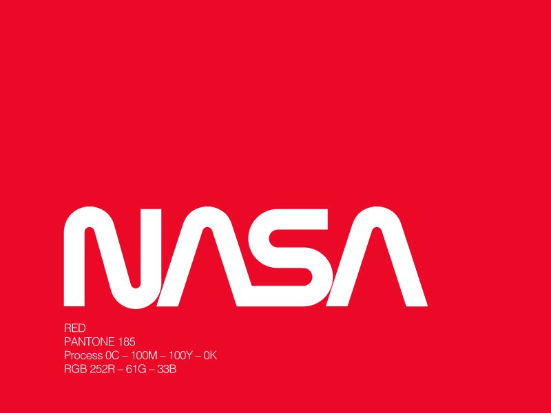 NASA Red Logo - LogoDix