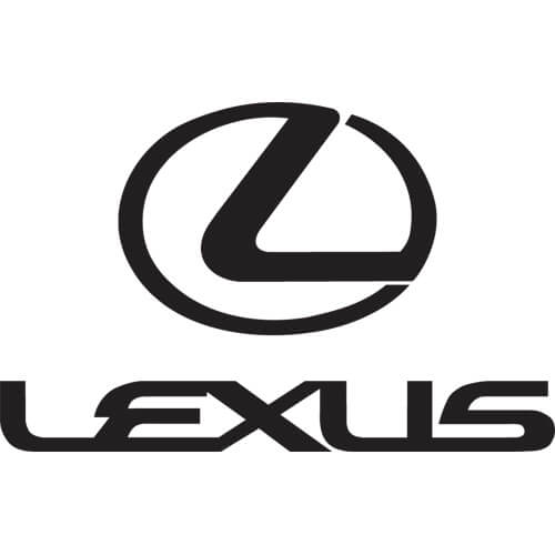 Lexus Logo - Lexus Decal Sticker - LEXUS-LOGO-DECAL | Thriftysigns