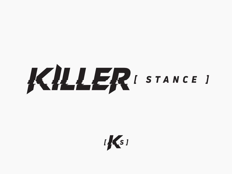 Stance Logo - Killer Stance - Logo Design by Nathan Joshua Canty | Dribbble | Dribbble