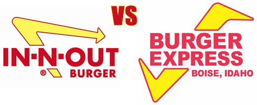 In-N-Out Burger Logo - In-N-Out Threatens Burger Express with Lawsuit | L.A. Weekly