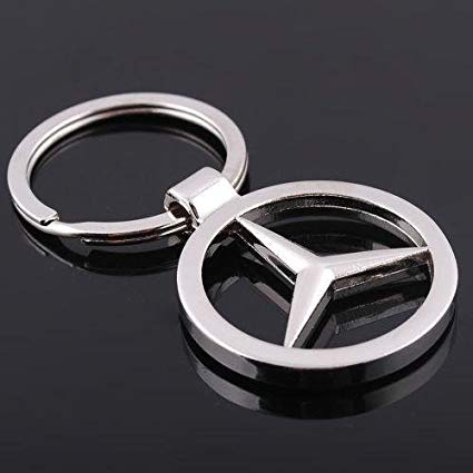 Black and Silver Car Logo - Amazon.com: Mercedes-Benz Car Keychain Car Logo Key Ring: Automotive