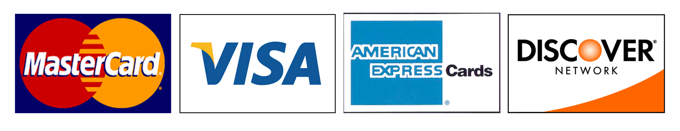 American Express Visa MasterCard Logo - LogoDix
