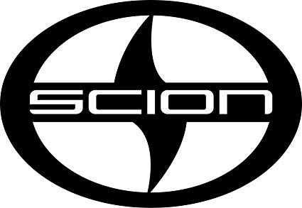 Scion Logo - Amazon.com: Scion Logo Car Bumper Sticker 5