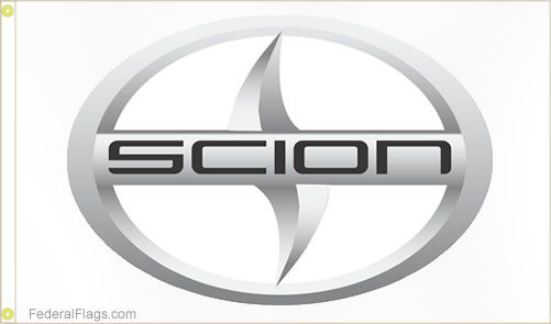 Scion Logo - Buy 3x5 ft. Scion Logo Flag - 3'x5' Logo Flags | Federal Flags ™