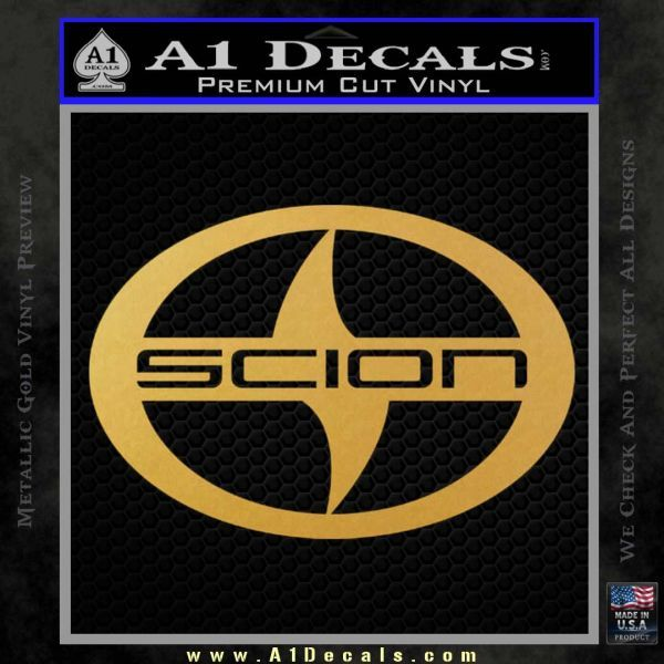 Scion Logo - Scion Logo Decal Sticker CR » A1 Decals
