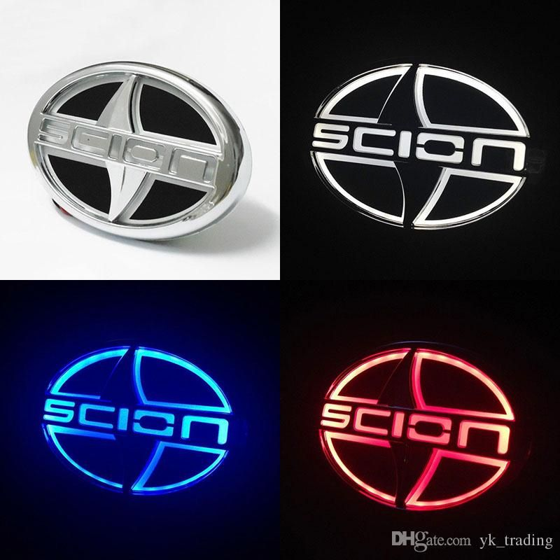 Scion Logo - 2019 Scion 12.5cm X 8.5cm Car 5D Led Logo Badge Light Scion Logo ...