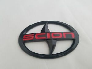 Scion Logo - B FIT SCION FRS TC IQ XB XD rear back trunk lid EMBLEM LOGO BADGE ...