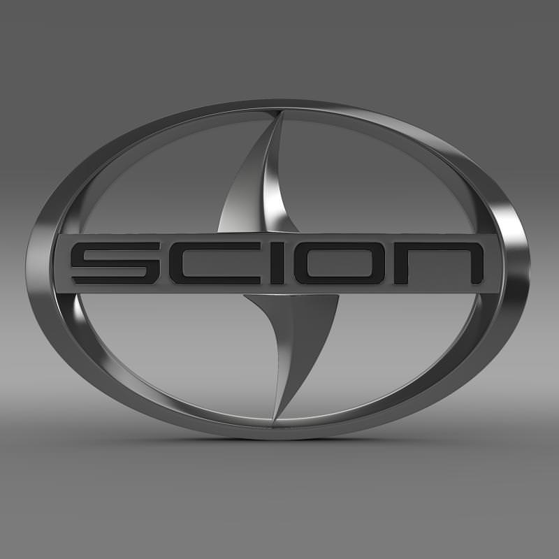 Scion Logo - Scion Logo 3D | CGTrader