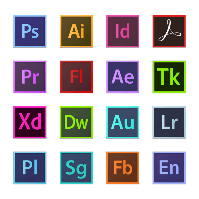 Adobe Logo - Adobe Icon Logo, Photoshop, Illustrator, Indesign PNG and Vector for ...