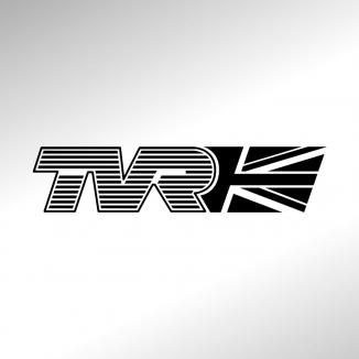 "TVR Logo - TVR – ""The Spirit of Driving"" logo with classic-style slogan ..."