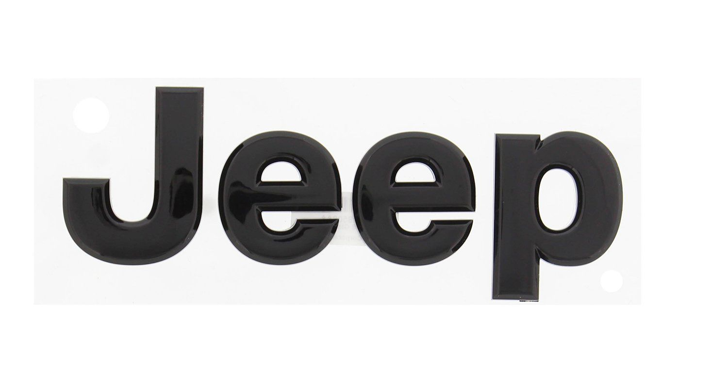Jeep Logo - Amazon.com: 2014 Jeep Wrangler Glossy Black Jeep Front or Rear ...
