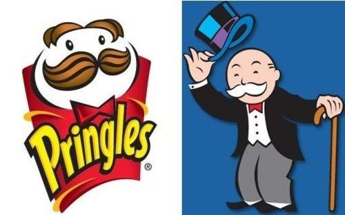 Pringles Logo - The Pringles Logo and the Monopoly Guy…Separated at Birth? | A ...