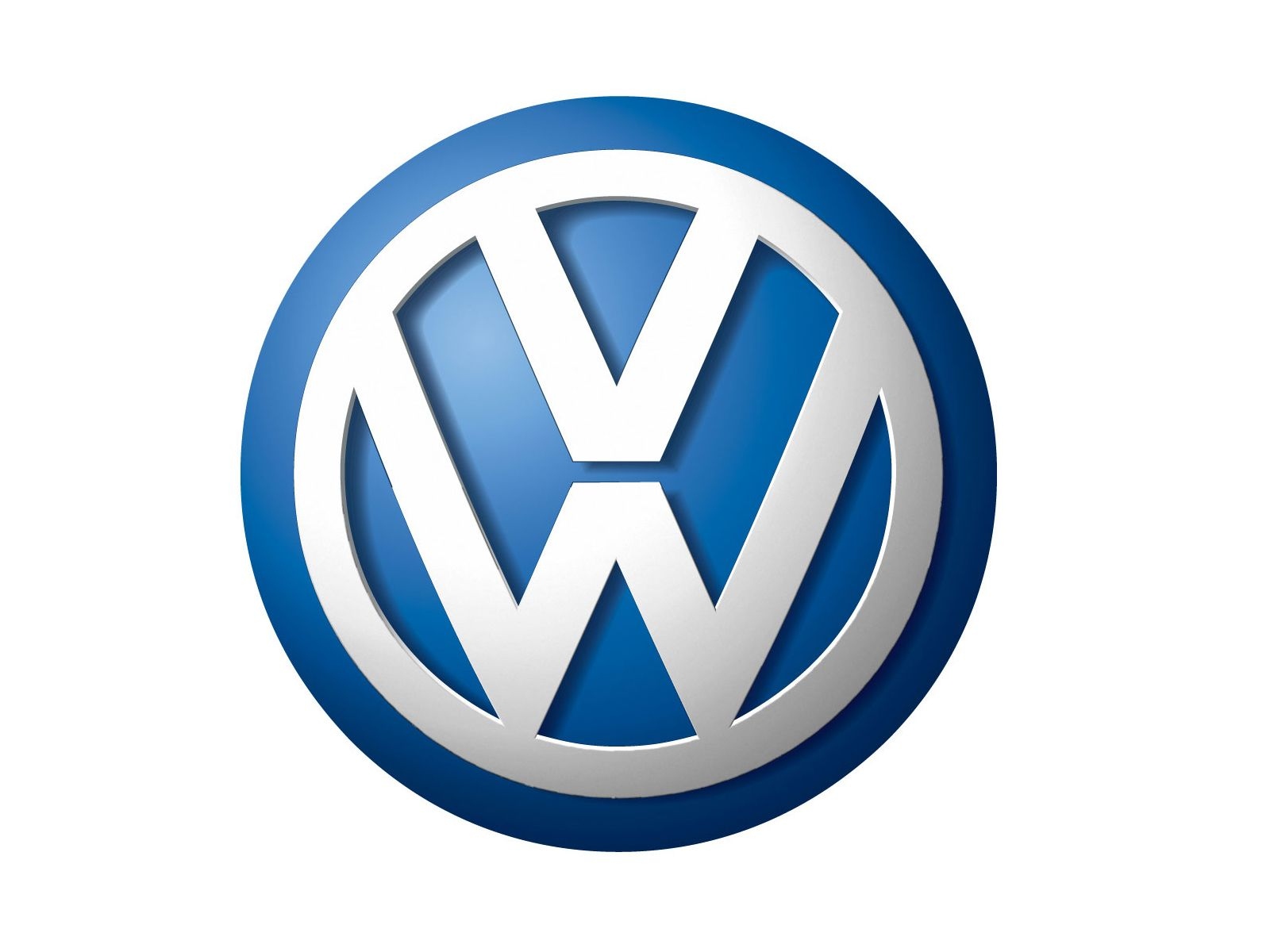 Blue and Silver Car Logo - Volkswagen Logo, Volkswagen Car Symbol Meaning and History | Car ...