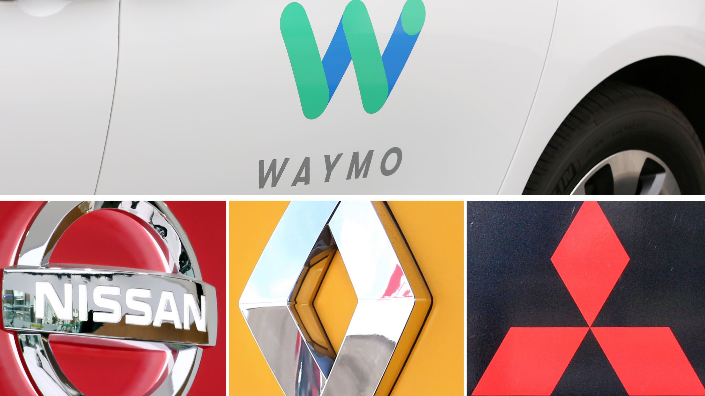 Waymo Logo - Nissan-Renault alliance to join Google on self-driving cars - Nikkei ...