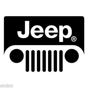 Jeep Logo - Jeep Wrangler Cj TJ JK Windshield Grill Emblem Logo Decal Sticker | eBay