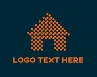 Dots Orange Spiral Logo - LogoDix
