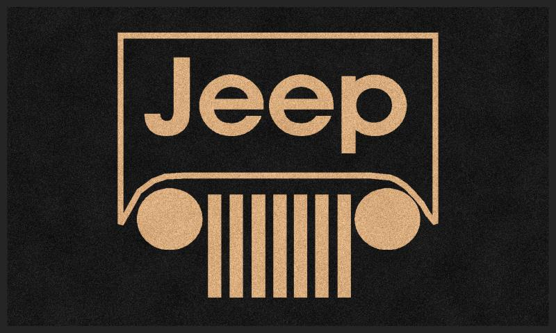 Jeep Logo - Custom Jeep Logo Rug