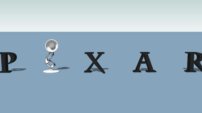 Pixar Logo - Pixar Logo (high poly) | 3D Warehouse