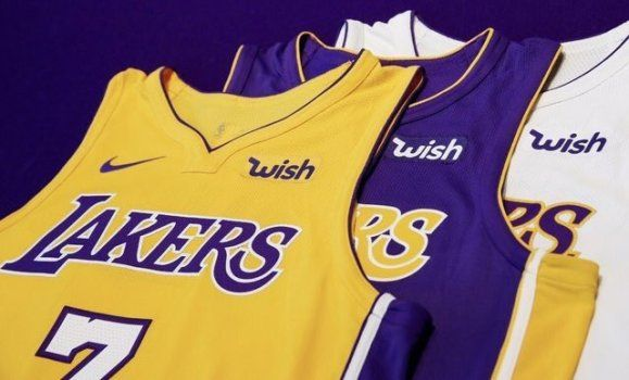 "Wish Logo - Miller: Like you, Lakers weren't sure what ""Wish"" on their jerseys ..."