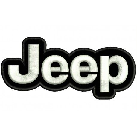 Jeep Logo - JEEP (Logo) Embroidered Patch