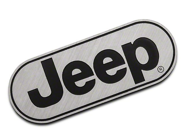 Jeep Logo - RedRock 4x4 Jeep Wrangler Jeep Logo Hitch Cover J102027 (87-19 Jeep ...