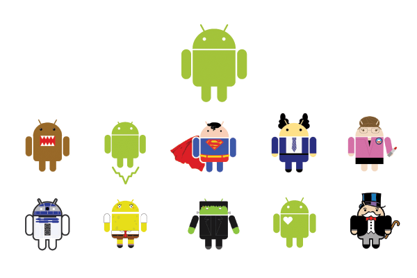Android Logo - Who Made That Android Logo? - The New York Times