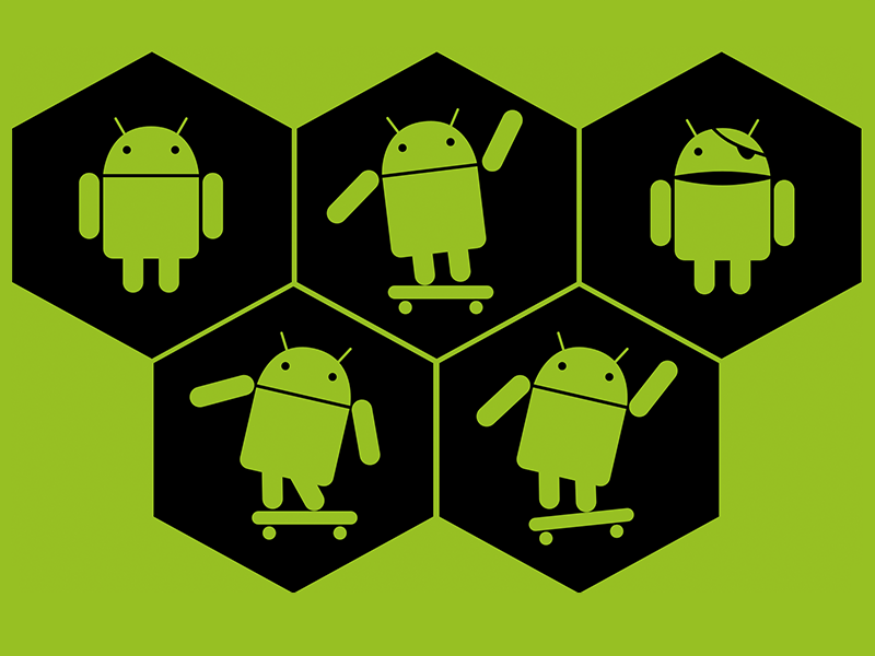 Android Logo - Android Icons for Sketch App Sketch freebie - Download free resource ...