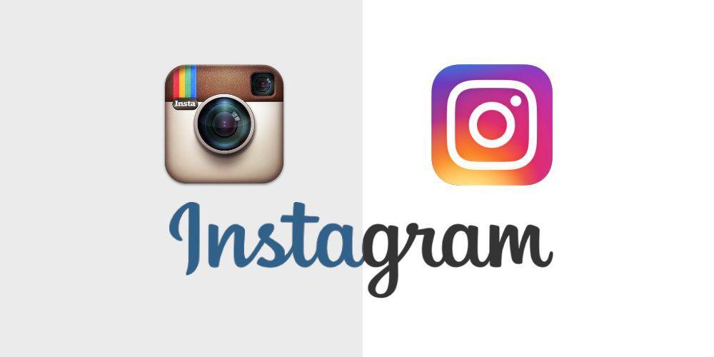 Resultado de imagen para instagram logo old vs new