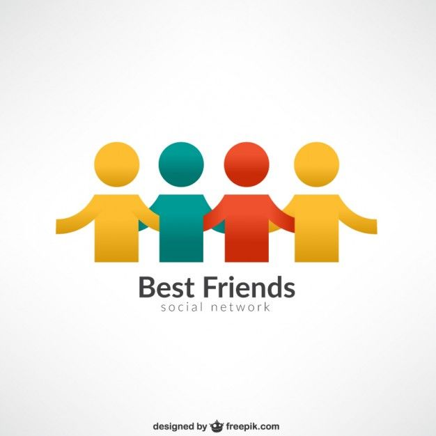 Friends Logo - Best friends logo Vector | Free Download