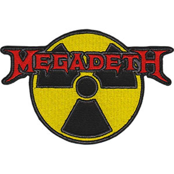 Megadeth Logo - Megadeth Iron-On Patch Radioactive Logo – Rock Band Patches