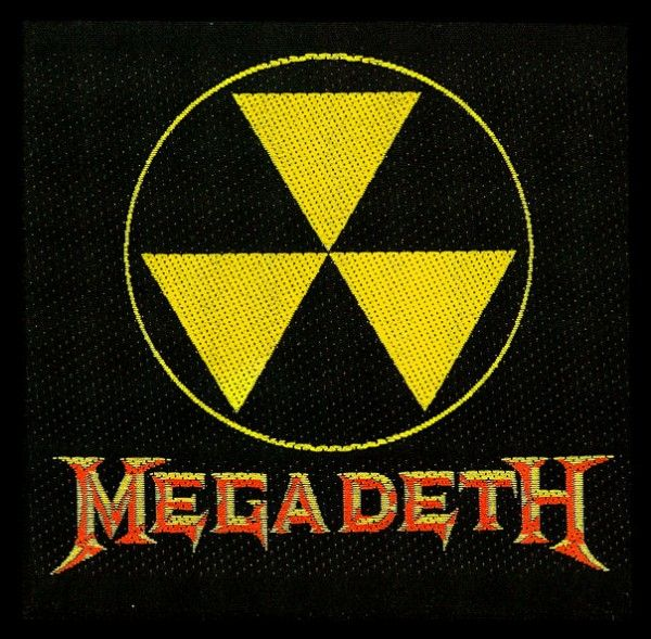 Megadeth Logo - Megadeth patches - Megadeth logo patch - Panic Posters
