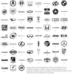 Black and Silver Car Logo - 13 Best Famous Logos images | Famous logos, Logo branding, Logos