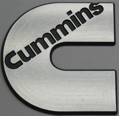 Cummins Logo - Amazon.com: Diesel Power Plus Cummins Logo Badge Emblem Set of 2 ...