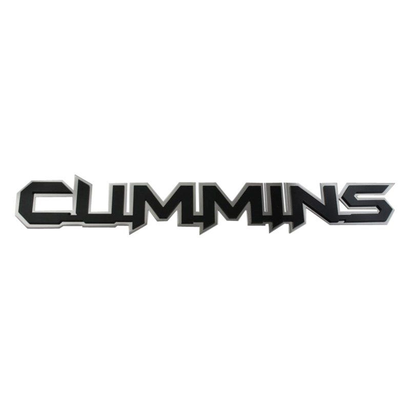 Cummins Logo - Royalty Core® 14706 - Gloss Black Cummins Emblem