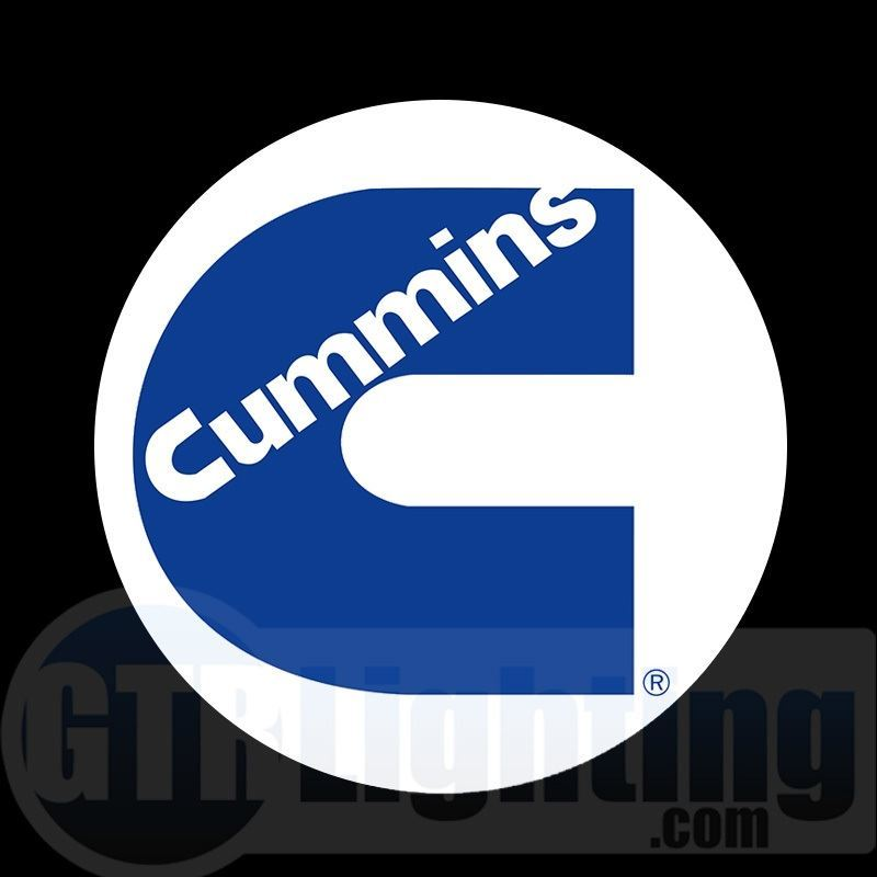 Cummins Logo - GTR Lighting LED Logo Projectors, Cummins Logo, #68