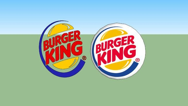 Burger King Logo - logo Burger King | 3D Warehouse