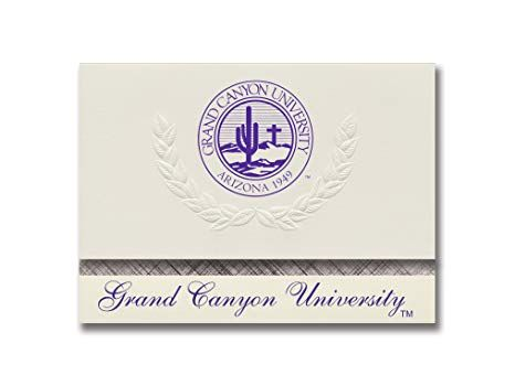 Grand Canyon U Logo - Amazon.com : Signature Announcements Grand Canyon University ROTC ...