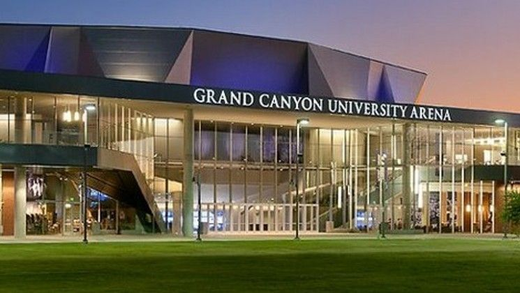 Grand Canyon U Logo - Grand Canyon University Arena | West Phoenix | Music Venues | Music ...