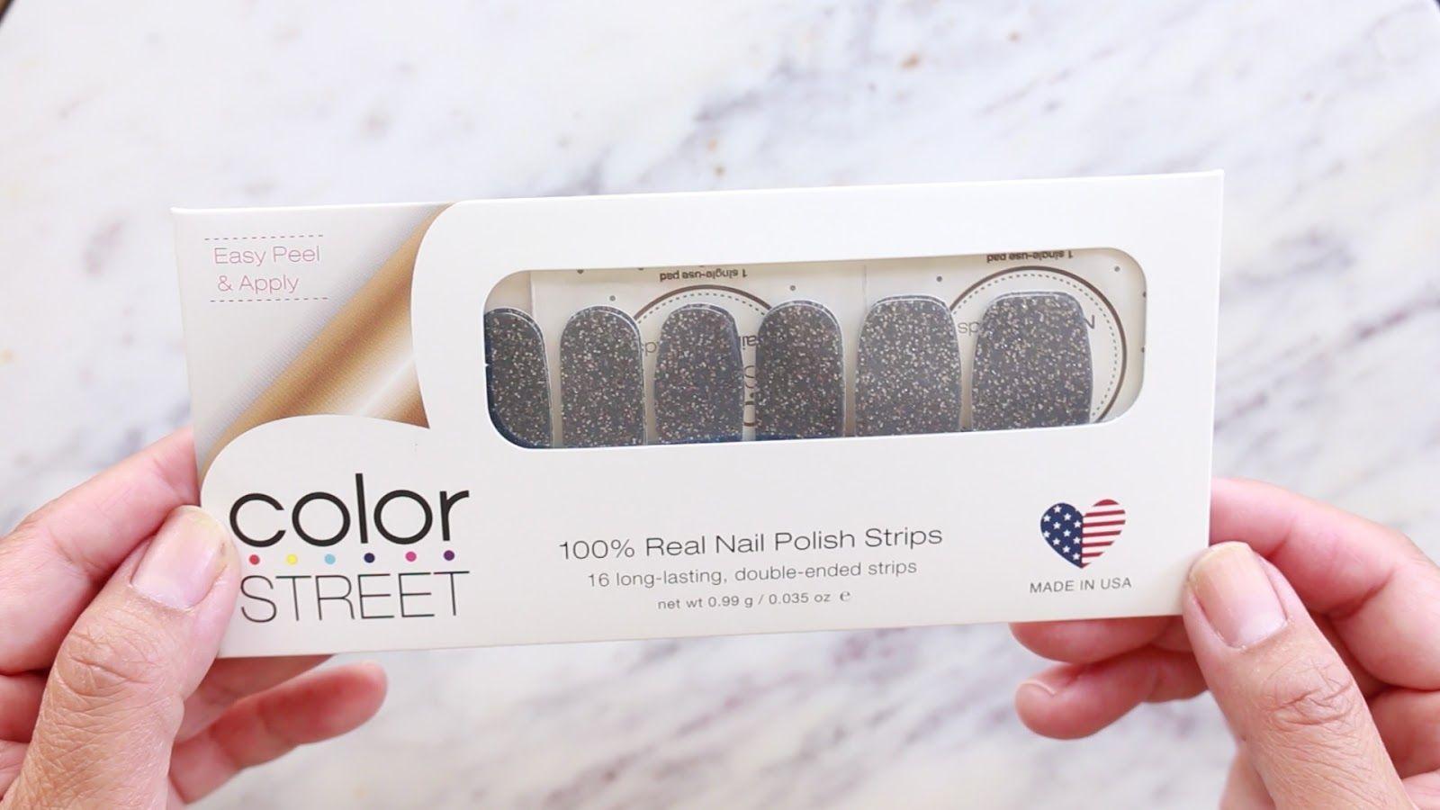 Color Street Nails Logo Logodix