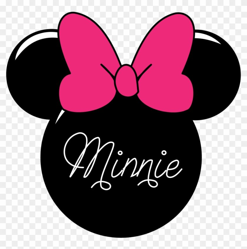 Minnie Mouse Logo - Minnie Mouse Clipart Minnie M - Minnie Mouse Head - Free Transparent ...