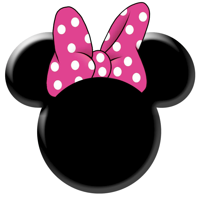 Minnie Mouse Logo - Minnie Mouse Head Clipart