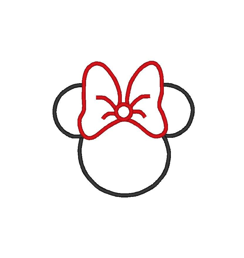 Minnie Mouse Logo - Free Mickey Mouse Ears Clipart, Download Free Clip Art, Free Clip ...