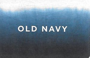 Old Navy Logo - Gift Card: Old Navy Logo (Old Navy, United States of America) (Old ...