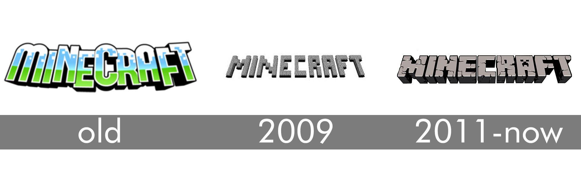 Old Minecraft Logo - LogoDix