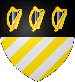 Golden Harp Logo - House Orme - A Wiki of Ice and Fire