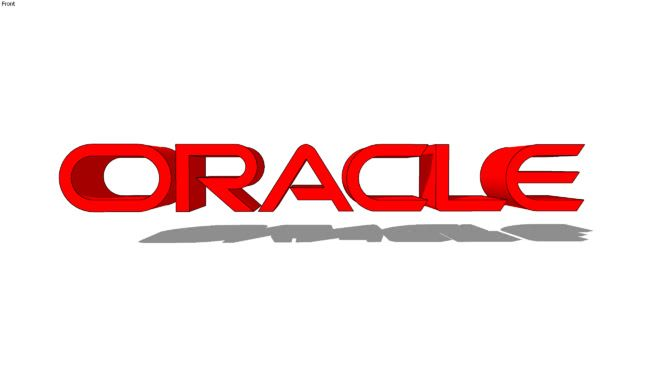 Oracle Logo - Oracle Logo | 3D Warehouse