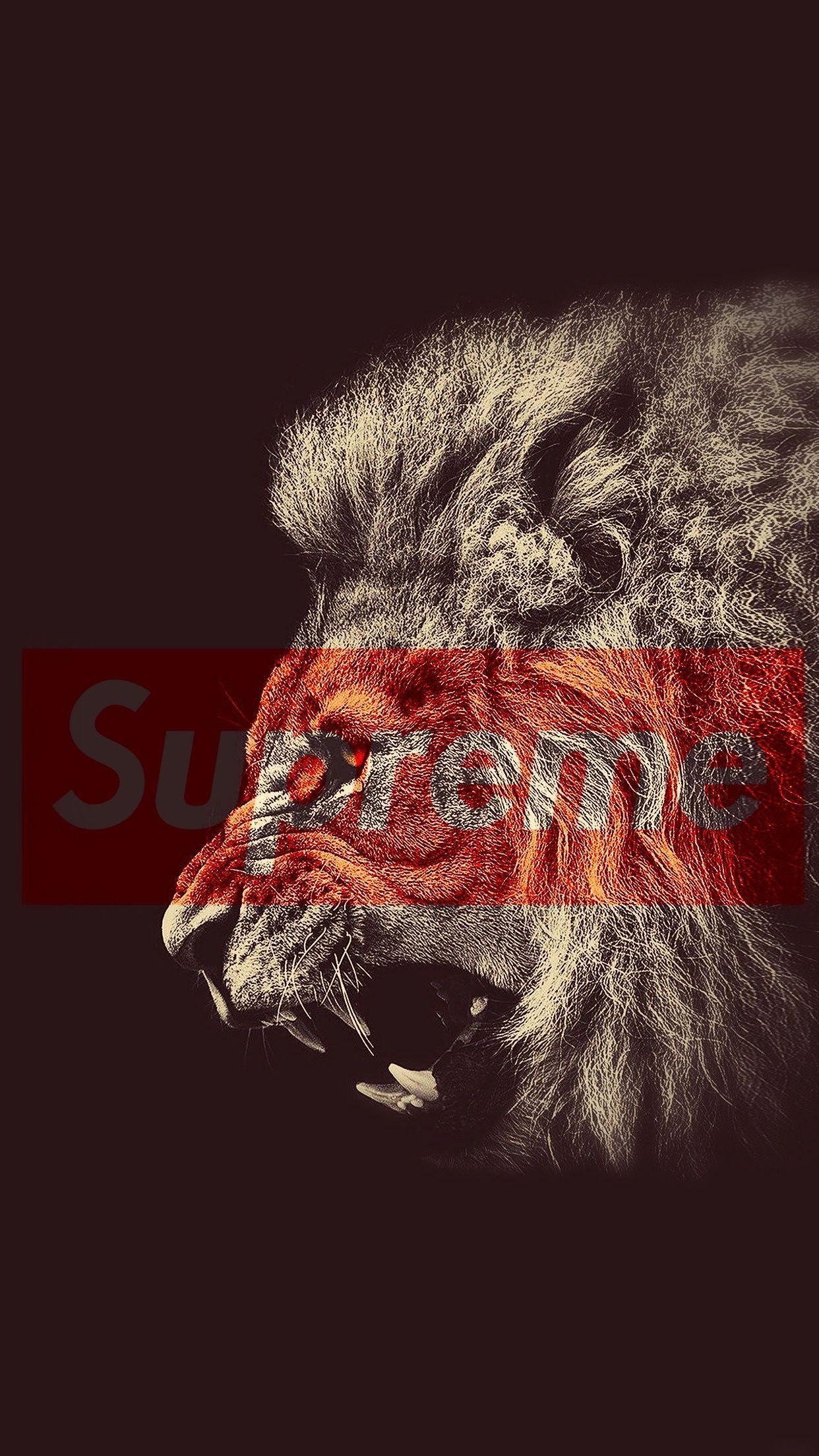 Lion Supreme Logo Logodix
