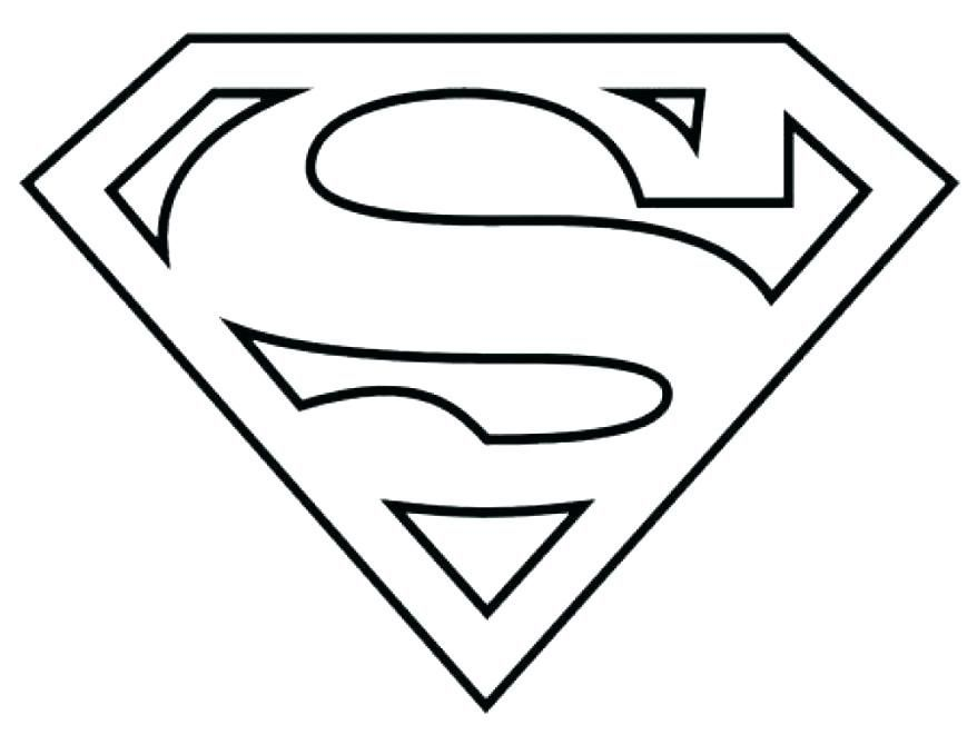 Black And White Supergirl Logo Logodix